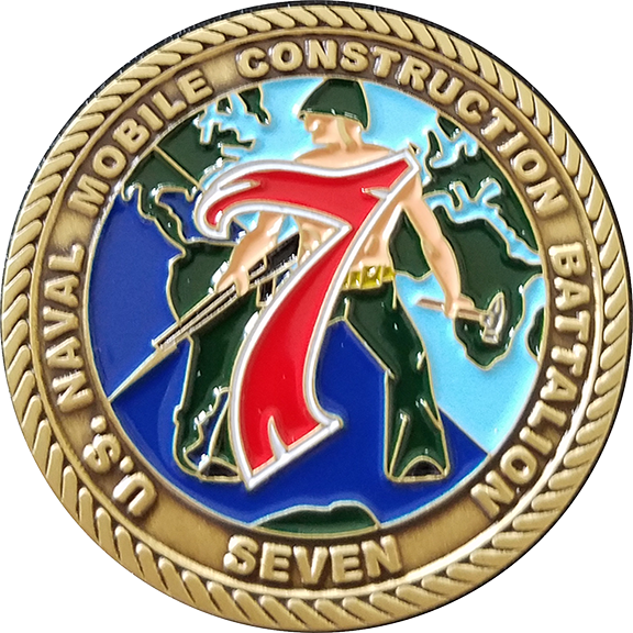 NMCB 74 CHIEF PETTY OFFICERS COIN
