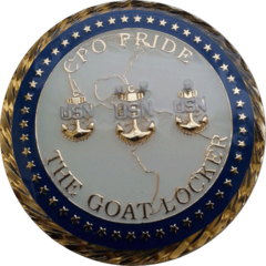US Navy Goat Locker Coin