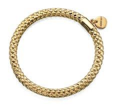Fiorelli Bangle Costume Jewellery Shiny Gold Tone Bangle with Disc Charm B4609