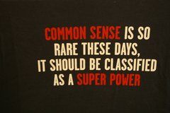 Common Sense, Superpower