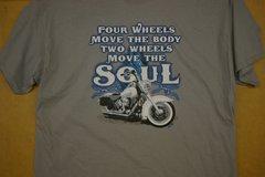4 wheels move the body