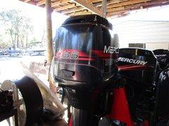 "Used 1999 Mercury 135HP 20"" shaft carb motor"
