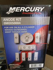8M0058684 new by Mercury Anode kit