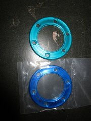 ring for Momo Marine steering wheel 6 hole pattern teal or blue