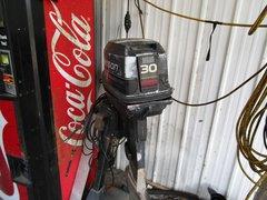 "1995 Johnson 30HP electric start long shaft 20"""