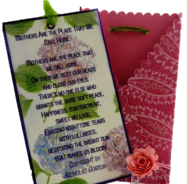 20 Handcrafted Pop By Gifts, Tags, Mother's Day Tags for Flowers