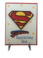 20 Handcrafted Birthday Cards Superman