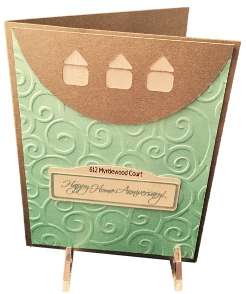 20 Personalized Home Anniversary Cards Service for Realtors