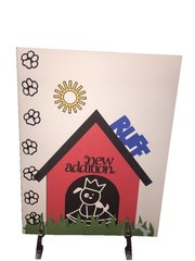20 Handcrafted Greeting Cards for Realtors New Home for a new Addition Ruff