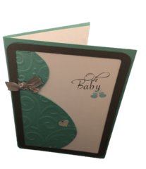20 Handcrafted Baby Bump Greeting Cards
