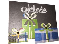 "20 Handcrafted Birthday Cards ""Celebrate"""