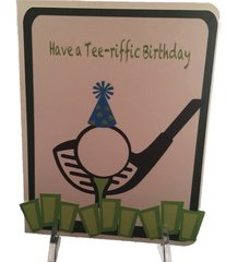 "20 Handcrafted Birthday Cards "" Tee-riffci Birthday"