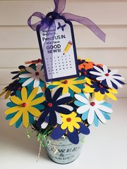 10 Pencils/ Flower Bouquet! Pop by Gift.. We Have Good News!