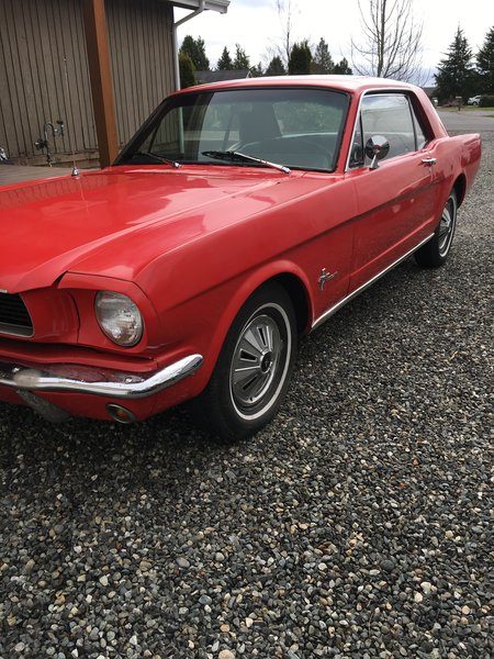 66 Mustang Coupe