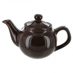 Black 2 Cup English Style 2 Cup Tea Pot