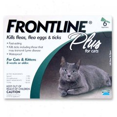 Flea Control Plus for All Cats And Kittens 6 Month Supply