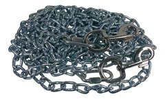Beast-Master 2/0 Twist Link Tie-Out Chain with Bolt Snaps Heavy Duty Big Dogs …
