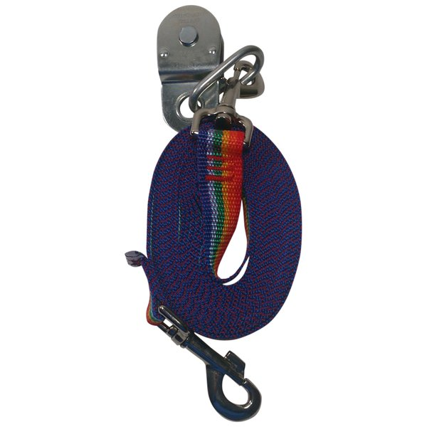 Beast-Master Polypropylene Replacement Lead Line w/Pulley-Rainbow