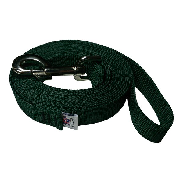 Beast-Master 1 Inch Polypropylene Dog Leash FPS-PP100 Forest Green