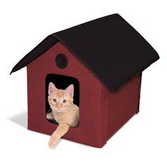 Outdoor Heated Kitty House Barn