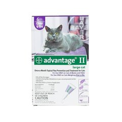 Flea Control for Cats and Kittens Over 9 lbs 6 Month Supply