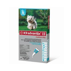 Flea and Tick Control for Dogs 10-22 lbs 4 Month Supply