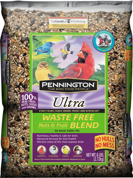 Ultra Waste Free Fruits & Nut Blend Bird Seed 2.5lb
