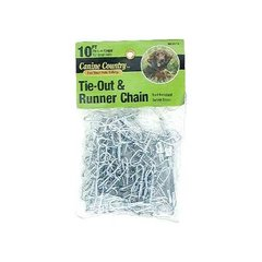 Medium Weight Dog Tie Out and Runner Chain