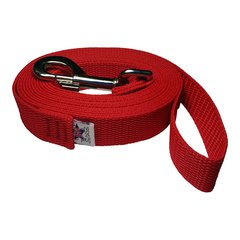 "Beast-Master 3/4"" Inch Polypropylene Dog Leash FPS-PP100 Firehouse Red"