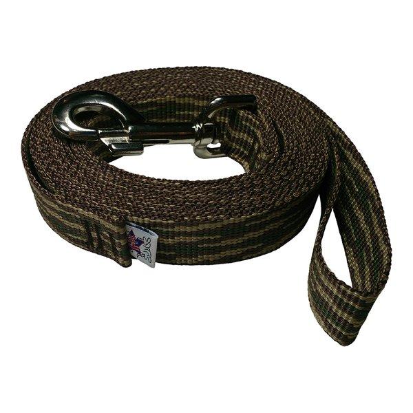 Beast-Master 1 Inch Polypropylene Dog Leash FPS-PP100 Woodland Camouflage