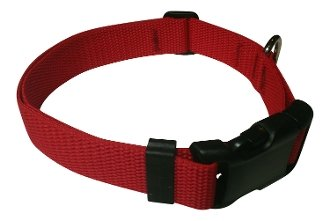 Beast-Master Polypropylene Dog Collar Firehouse Red