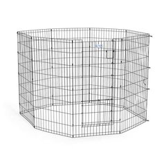 Life Stages Pet Exercise Pen with Split Door