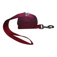 "Beast-Master 1"" Nylon Dog Leash Red"