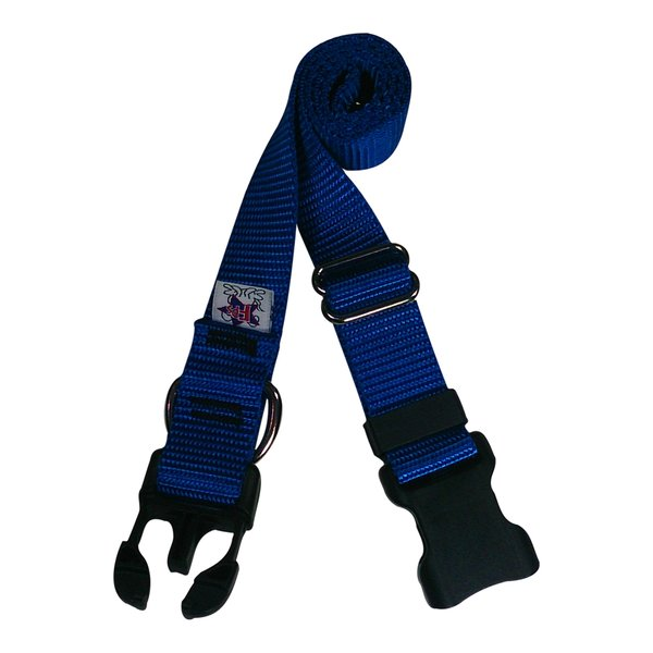 Beast-Master Nylon Dog Collar Plastic Hardware-Royal Blue