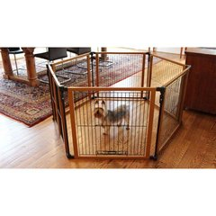 Perfect Fit Free Standing Pet Gate