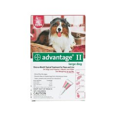 Flea Control for Dogs and Puppies 21-55 lbs 4 Month Supply