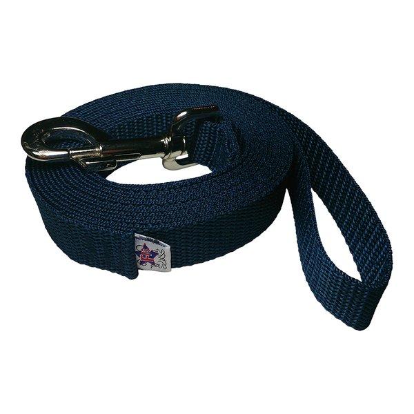 Beast-Master 1 Inch Polypropylene Dog Leash FPS-PP100 Navy Blue