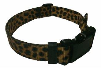 Beast-Master Polyester Dog Collar Cheetah
