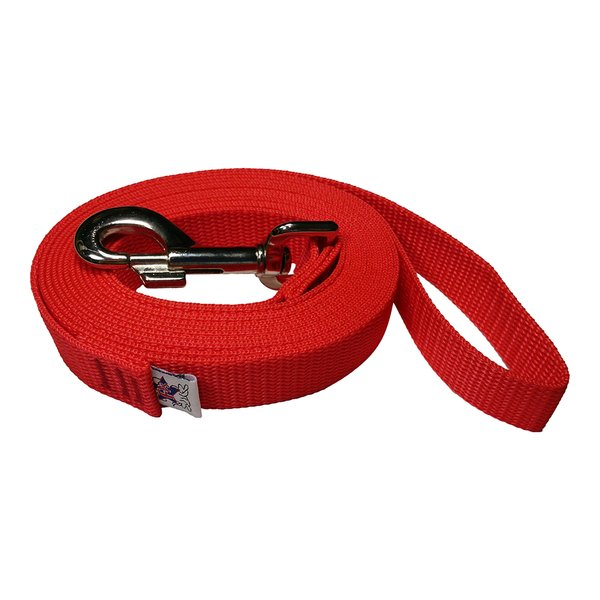 Beast-Master 1 Inch Polypropylene Dog Leash FPS-PP100 Red Dawn