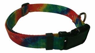 Beast-Master Polyester Dog Collar Tie-Die