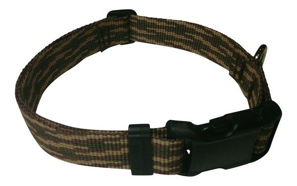 Beast-Master Polypropylene Dog Collar Woodland Camouflage