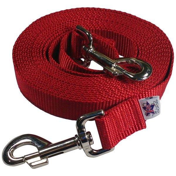 Beast-Master Nylon Dog Tether Red