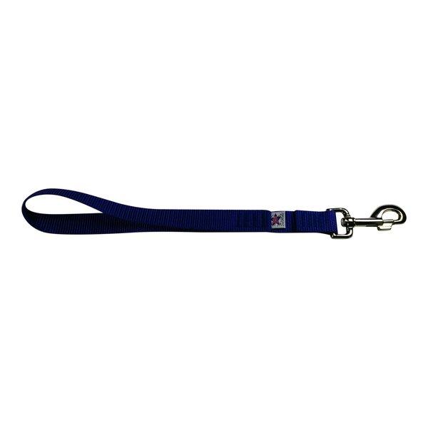 BM Nylon Dog Training Lead/Leash 12 Inch Vivid Violet