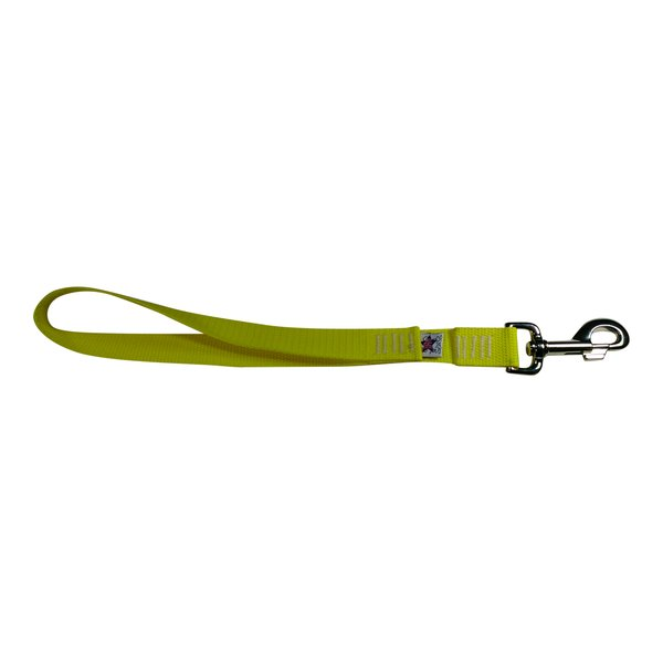 BM Nylon Dog Training Lead/Leash 12 Inch Yellow