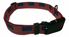 Beast-Master Polypropylene Dog Collar USA Flag