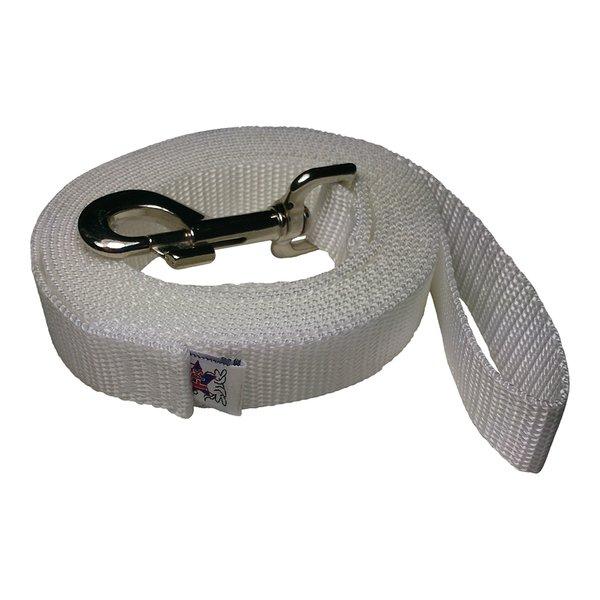 Beast-Master 1 Inch Polypropylene Dog Leash FPS-PP100 Hyper White