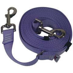"Beast-Master Adjustable 1"" Nylon Dog Tether (Medium Dogs) Lavender"