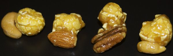 Caramel with NUTS