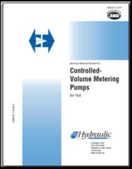 HI-A137 ANSI/HI 7.6-2012 Controlled-Volume Metering Pumps for Test
