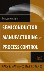 IEEE-78406-7 Fundamentals of Semiconductor Manufacturing and Process Control